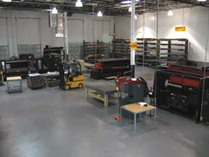 Manufacturing Interior View