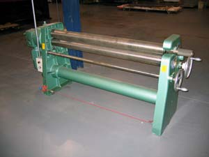 6 Foot Rolling Machine