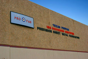 Texas ProFab Corporation Building